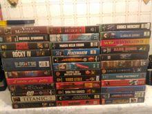 122 videocassette di vario genere