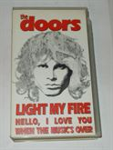 VHS THE DOORS LIGHT MY FIRE ORIGINALE IN INGLESE